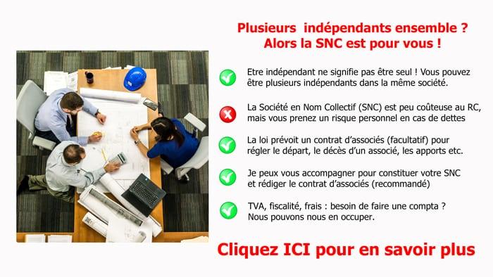 indépendant SNC