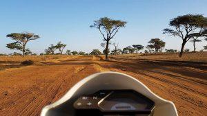 moto piste Sénégal
